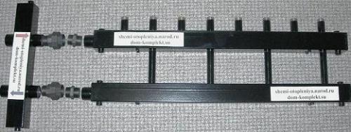 Коллектор для отопления с гидростелкой