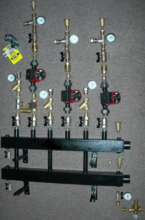 Коллекторная система отопление частного дома своими руками