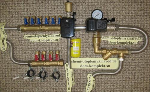 Автономное водоснабжение частного дома можно собрать своими руками.  Для узла системы водоснабжения Вам понадобятся...